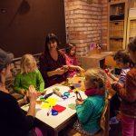 Kreativzeit auch mit Eltern